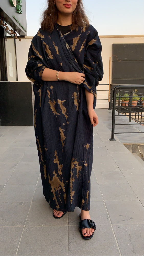 The Willow Tie-Dye Abaya - BUY 1 GET 1 free