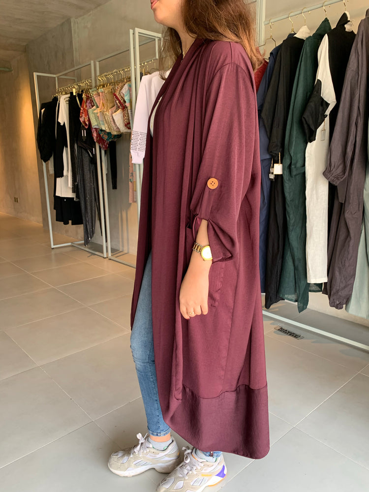 The Sophia Abaya - Casual and lightweight - Online Shopping - The Untitled Project