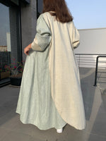 The Maria Abaya - Signature Chic in Linen - The Untitled Project