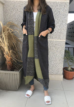 The Denver Abaya - Crinkle Linen in Luxury