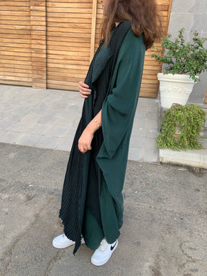 The Swedish Abaya - Loose Washed Silk - The Untitled Project