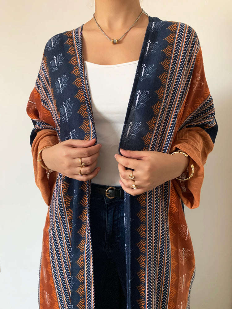 The Gypsy Abaya - Summertime Boho Bali Print