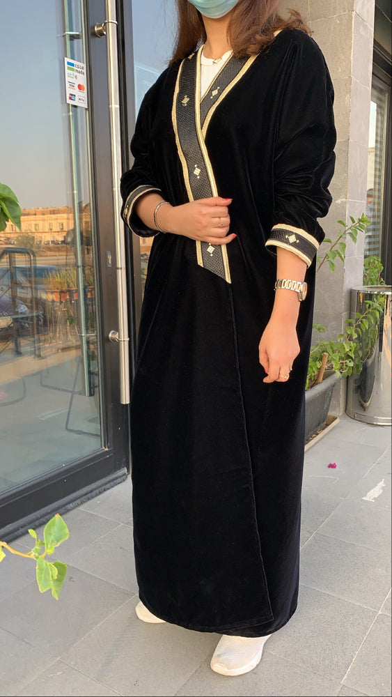 The Toleen Abaya - Winter Luxury Mishlah - The untitled project