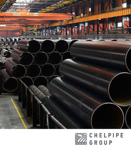 Storage of Spirally Welded Pipes (SSAW) at Vysota  factory