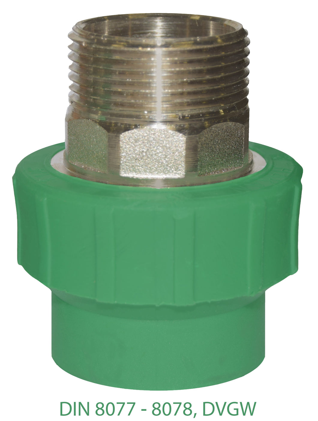 GF PPR Round Adaptor Male 87M