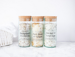 Wine Bottle Bath Salts
