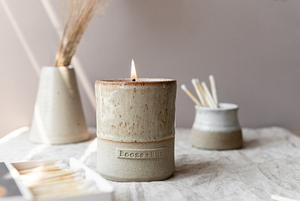'Bourbon' - Stoneware Pot Soy Candle