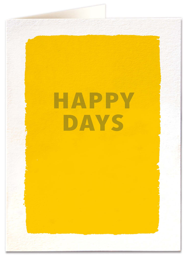 Load image into Gallery viewer, 'Happy Days' Card