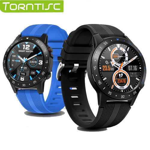 Torntisc M5S Sport Smartwatch Uomo Supporto SIM Card 1,3 pollici Full Round Touch Frequenza cardiaca Bussola impermeabile IP67 Meteo / Elettronica