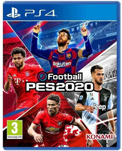 PES 2020 PS4 GIOCO ITALIANO PLAY STATION 4 NUOVO EU PRO EVOLUTION SOCCER 2020 VIDEOGIOCO PS4