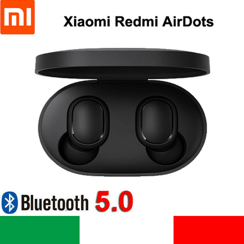 Xiaomi Redmi Airdots Bluetooth5.0 TWS Auricolari Wireless Cuffie Sport BT5.0 IT