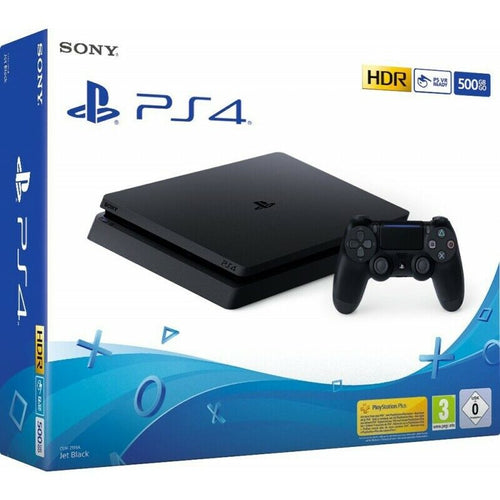 PS4 500GB SLIM BLACK F CHASSIS - PLAYSTATION 4 - HDR - OFFERTISSIMA !!!