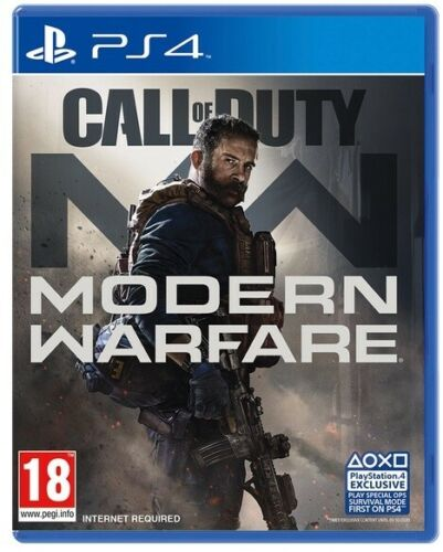 CALL OF DUTY MODERN WARFARE PS4 GIOCO EU ITALIANO PLAYSTATION 4 NUOVO SIGILLATO VIDEOGIOCO PS4