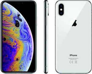 SMARTPHONE APPLE IPHONE XS 64GB ARGENTO SILVER VIDEO 4K DISPLAY GARANZIA 24 MESI HD 5,8