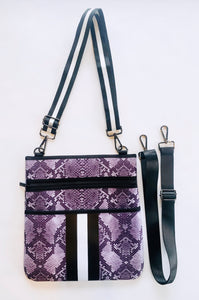 Snake Neoprene Cross Body