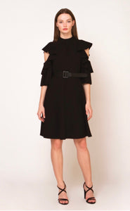 Black Belted Dress