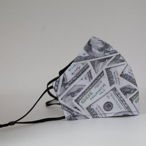 Dollar Bill Face Mask - Binta Sagale Shop