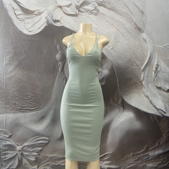 Fitted bodycon dress - Binta Sagale Shop