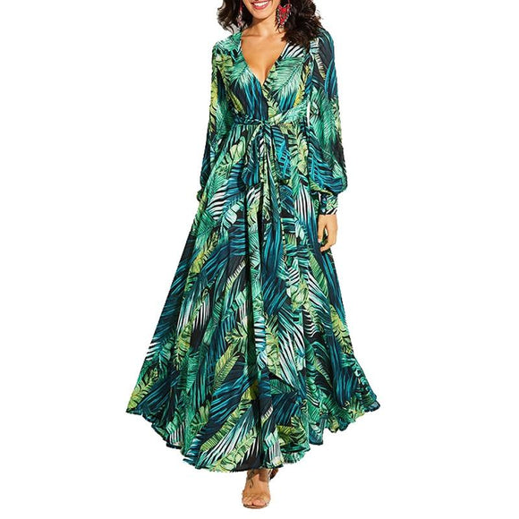 Floral Boho maxi dress - Binta Sagale Shop