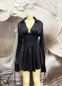 The Vintage Black Micro Mini Dress - Binta Sagale Shop