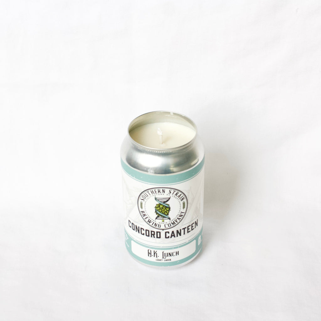 Southern Strain Concord Canteen Candle