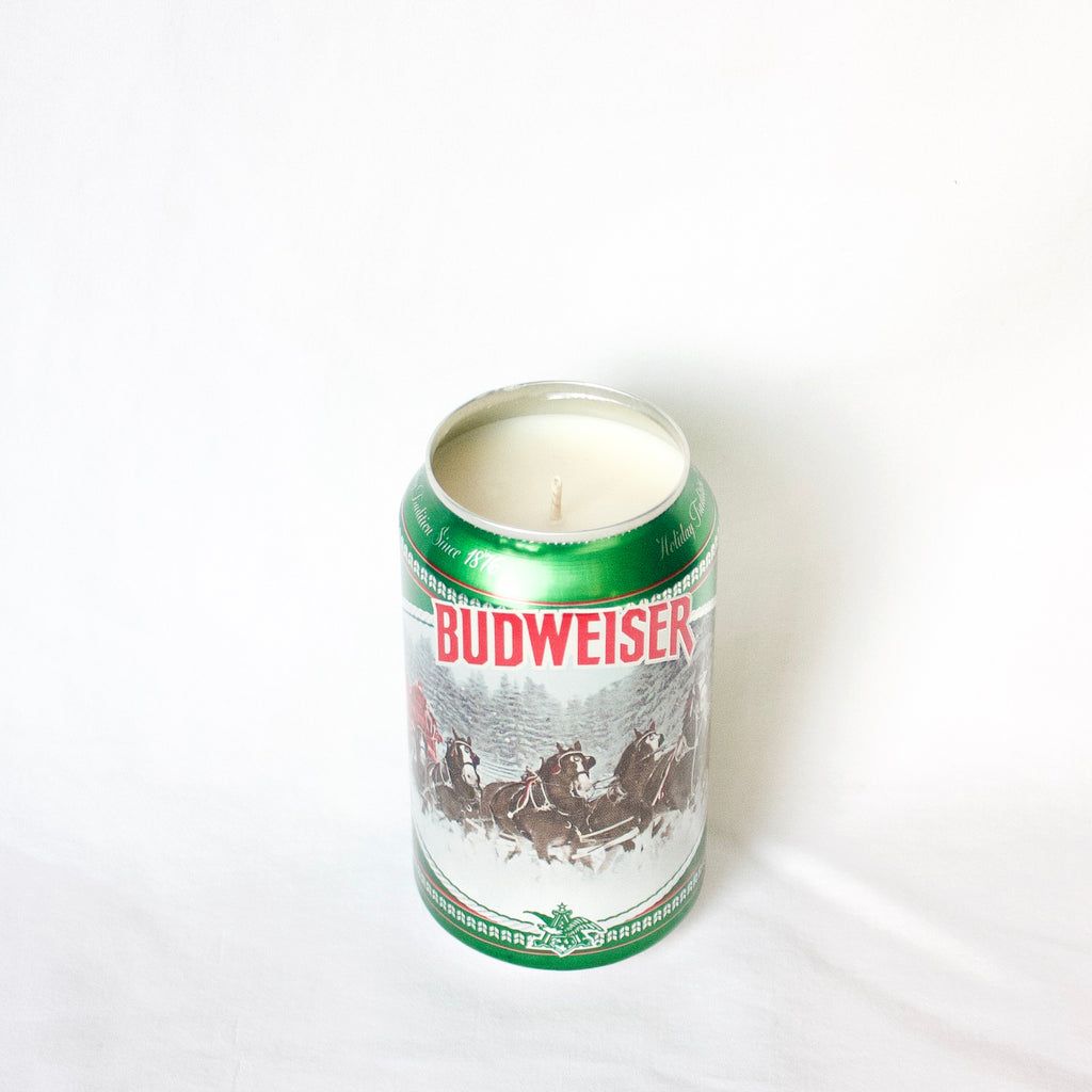 Budweiser Holiday Edition #3 Candle