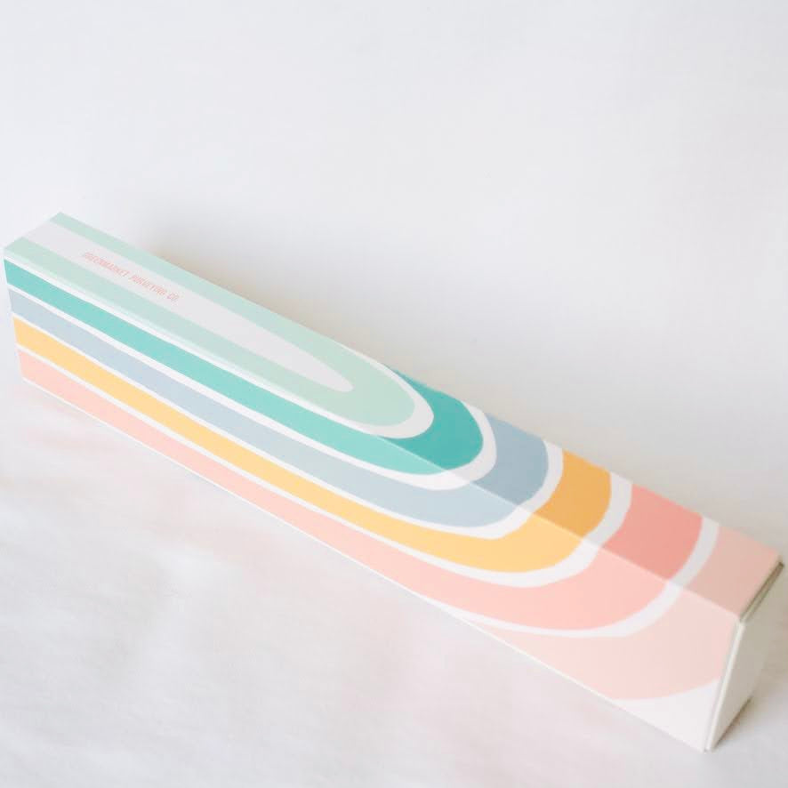 "Rainbow 11"" Matchbox"