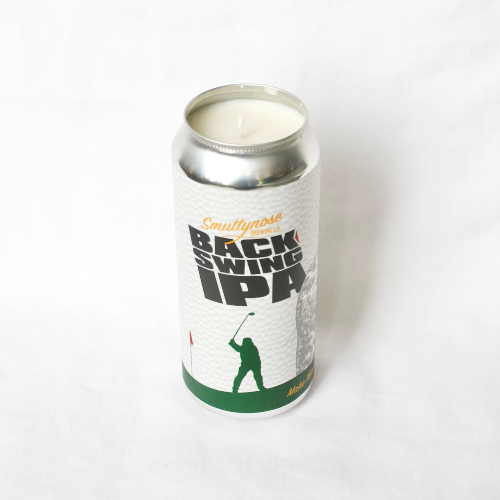 Smittynose Brewing Back Swing Candle