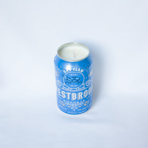 "Westbrook Brewing ""One Claw"" Beer Candle"