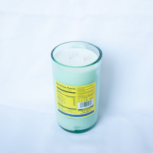 Topo Chico 25oz Glass Candle