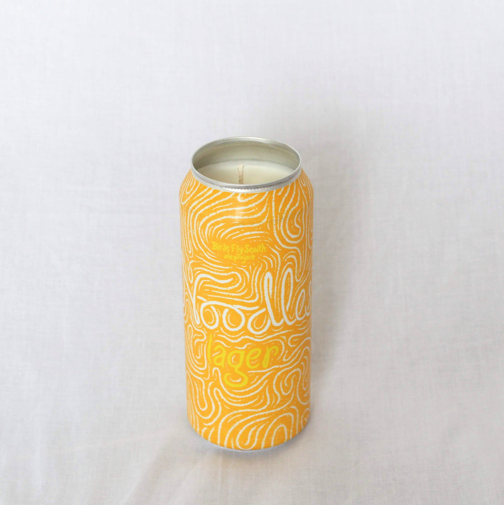 "Birds Fly South ""Noodle Lager"" Candle"