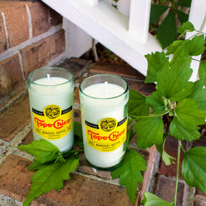 Topo Chico 12oz Glass Candle