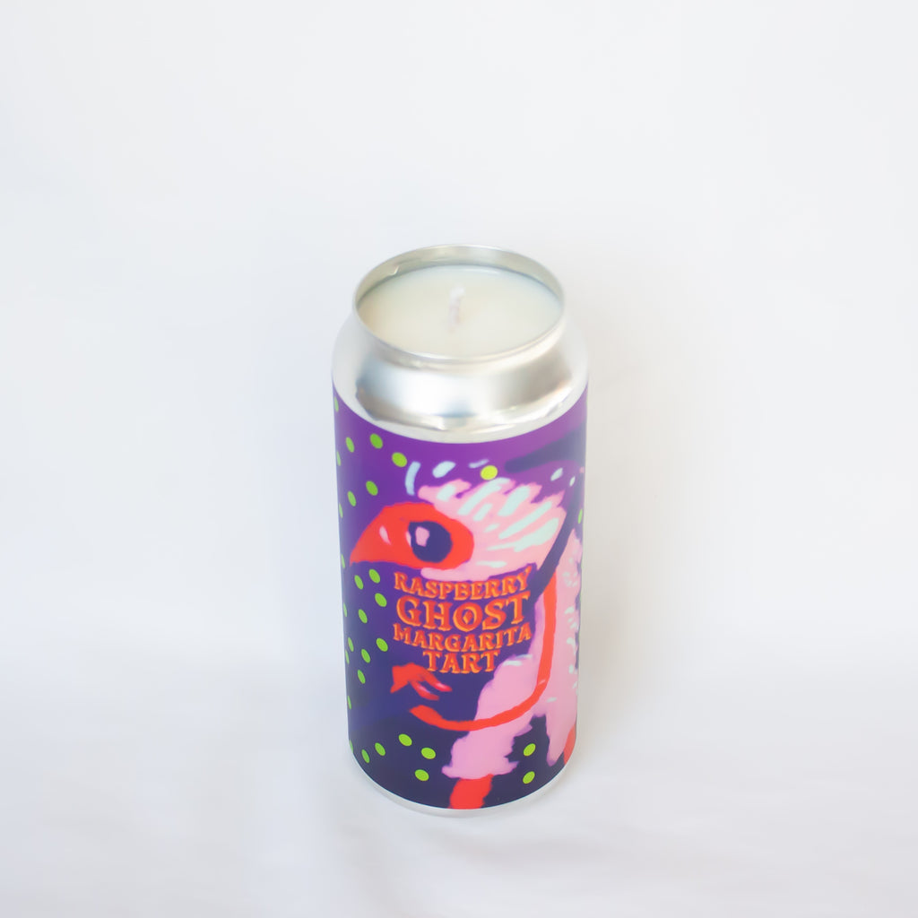 Ass Clown Brewing Raspberry Ghost Candle