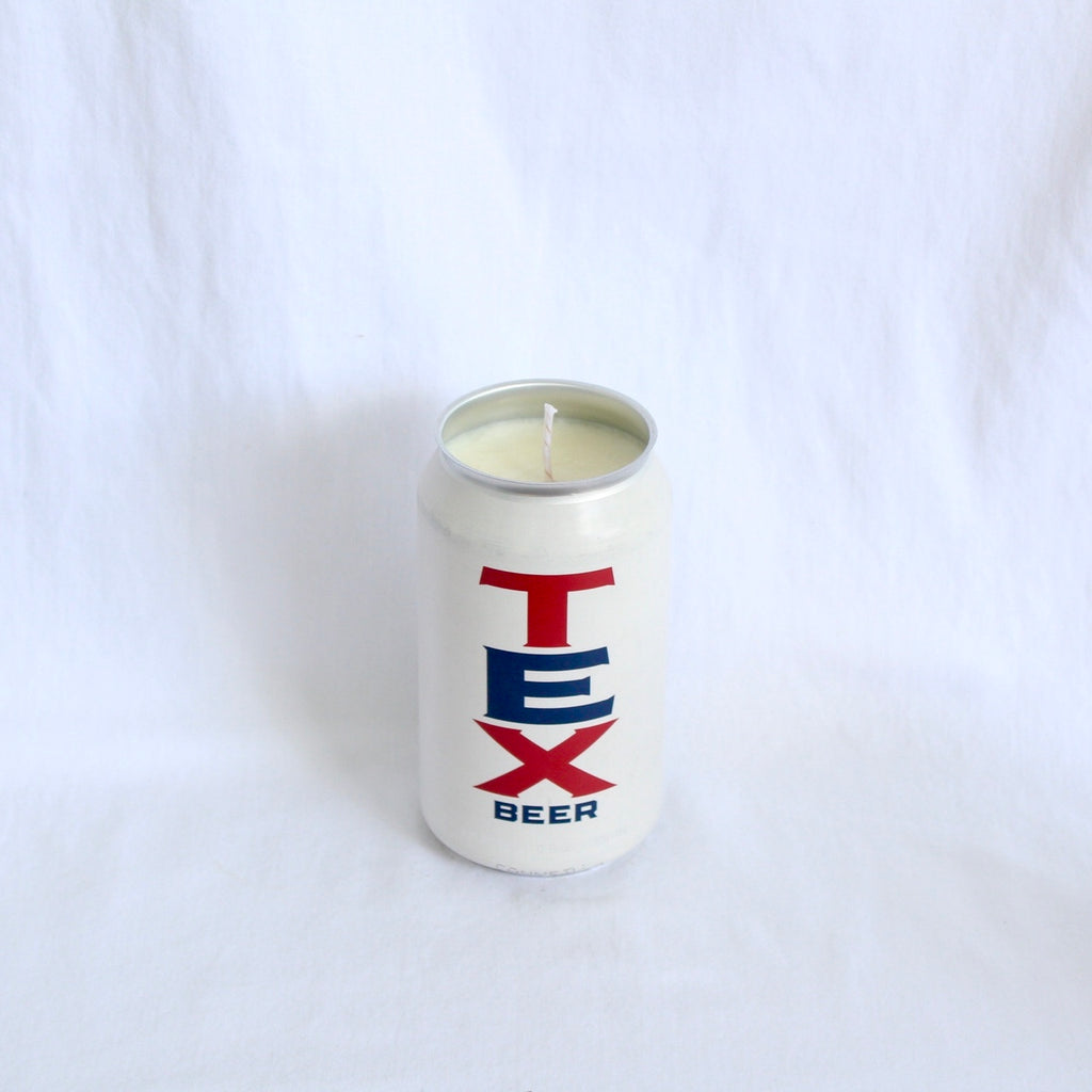 Eighth Wonder Tex Beer Candle