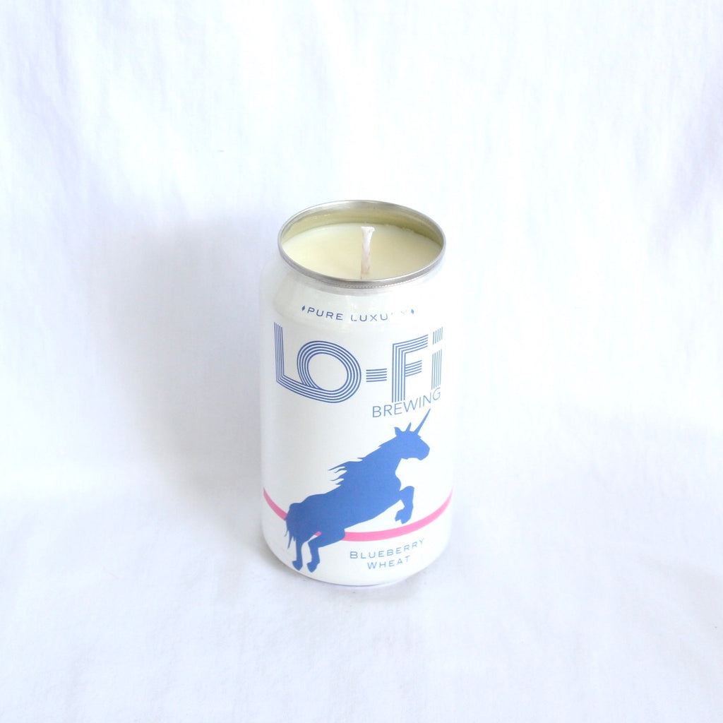 Lofi Brewing Blueberry Wheat Candle