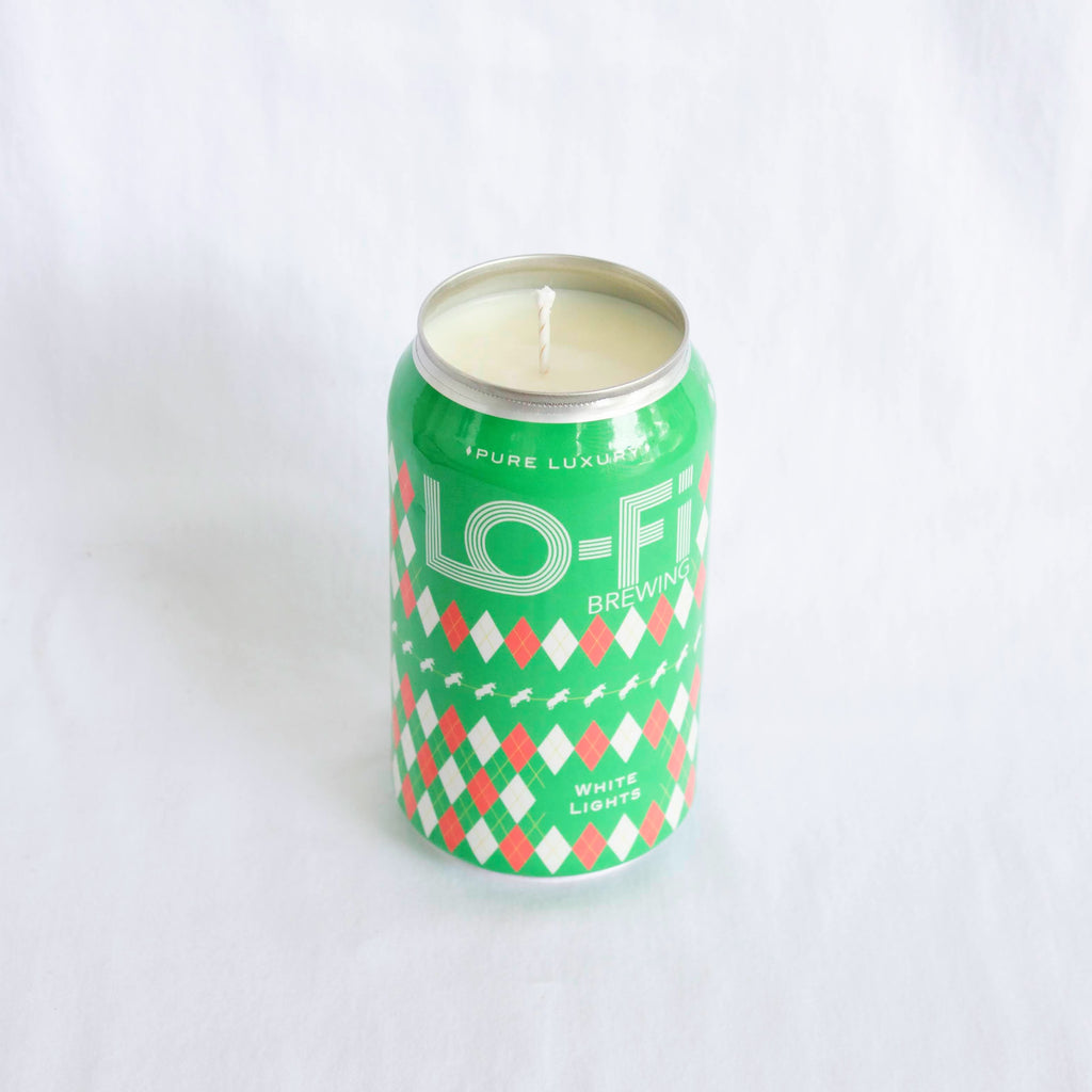 Lofi Brewing White Lights Candle