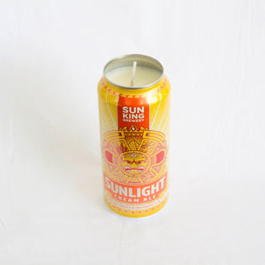 Sun King Brewery Sunlight Ale Candle