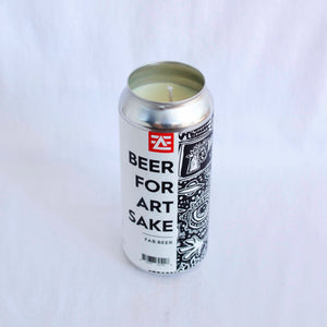 Beer For Art Sake Candle