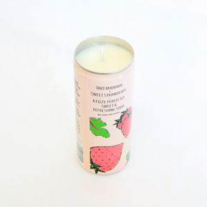 Trader Joe's Rhubarb & Strawberry Soda Candle