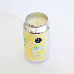 3 Taverns Brewery Key Lime Pie Slice Candle