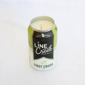 Line Creek Brewing First Crush IPA Candle
