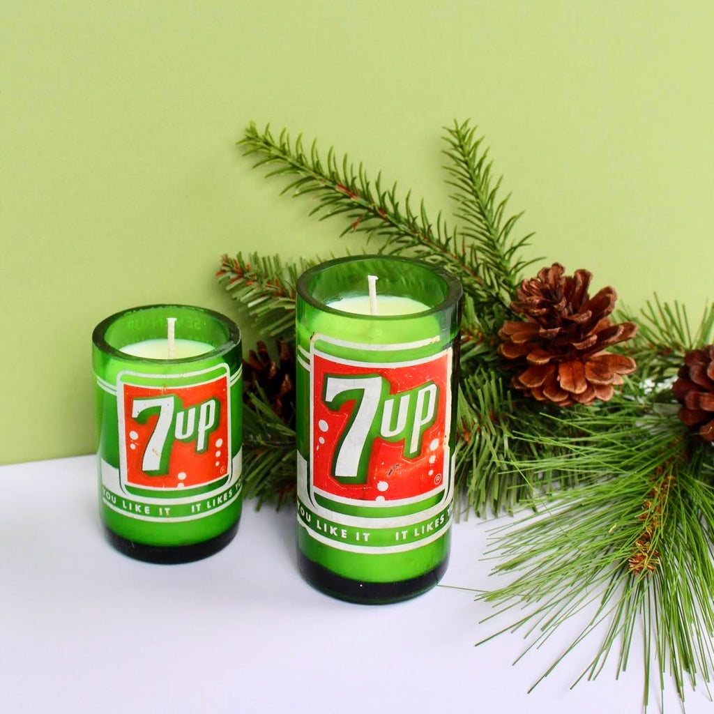Vintage 7UP Candle