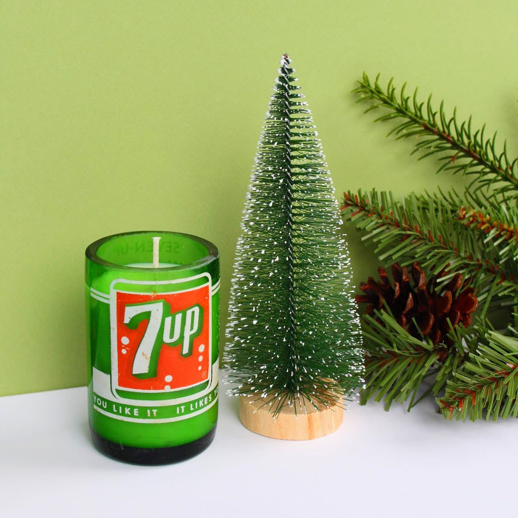 Vintage Mini 7UP Candle