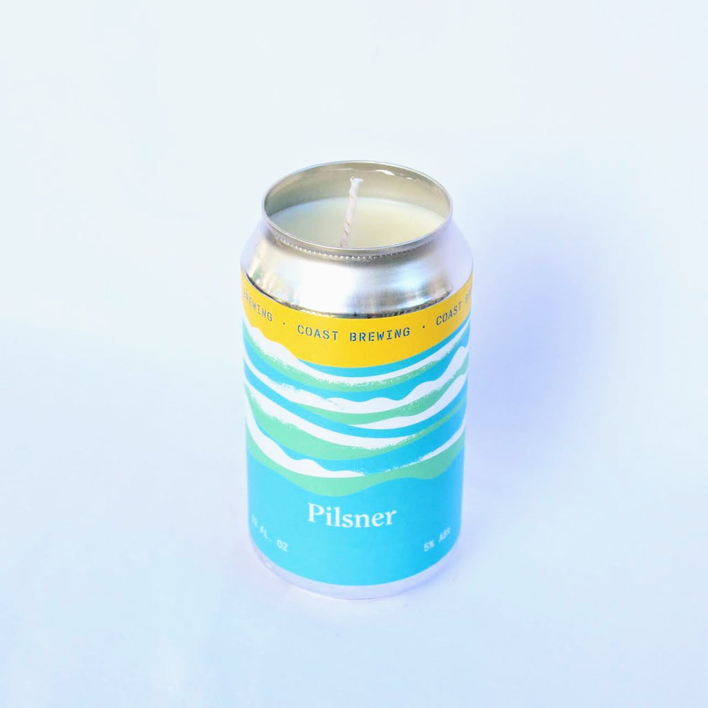 Coast Brewing Pilsner Candle