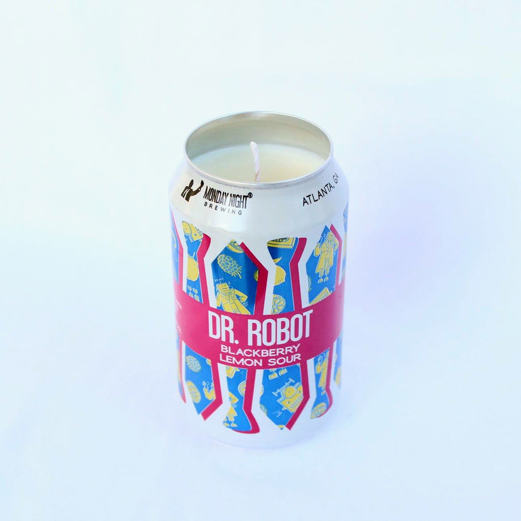 Monday Night Brewing Dr Robot Candle
