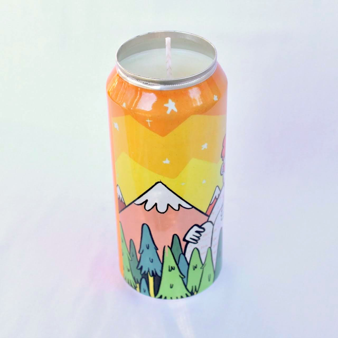 Clown Mountain Candle