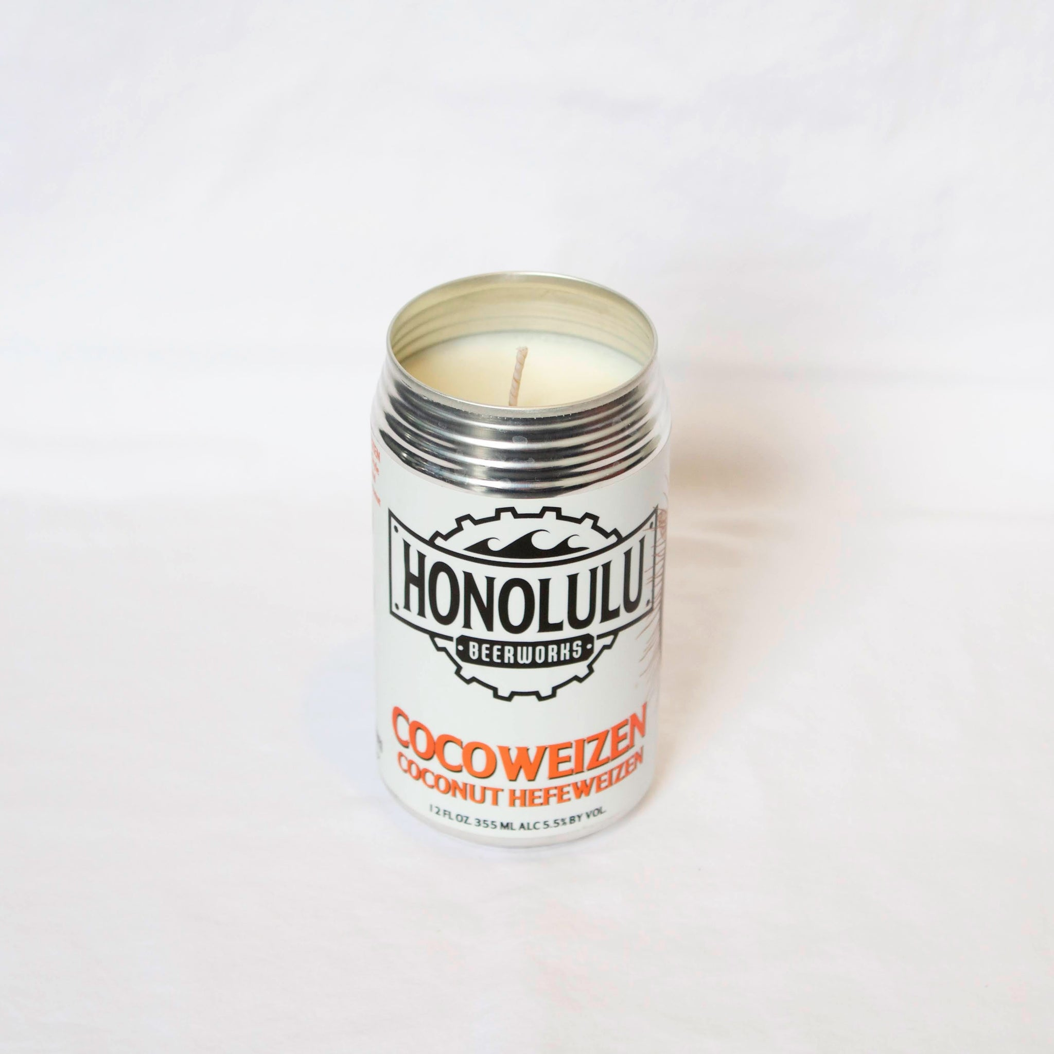Honolulu Brewing Cocoweizen Candle