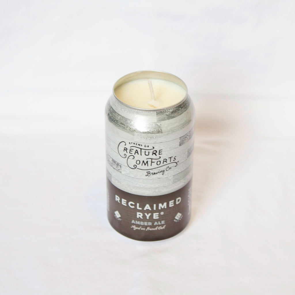 Creature Comforts Reclaimed Rye Candle