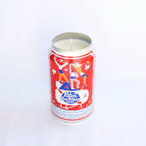 Pabst Blue Ribbon Art Can Candle