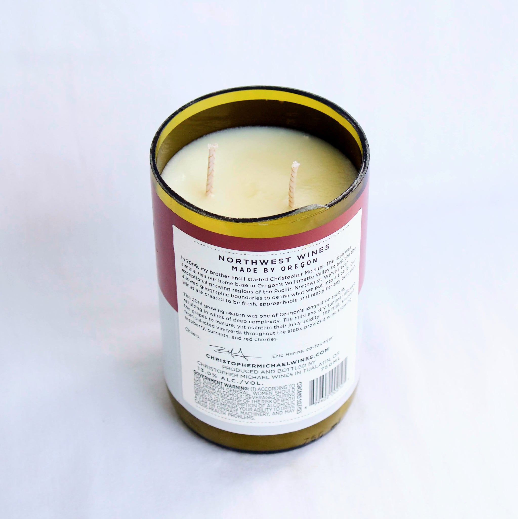 Christopher Michael Pinot Noir Candle